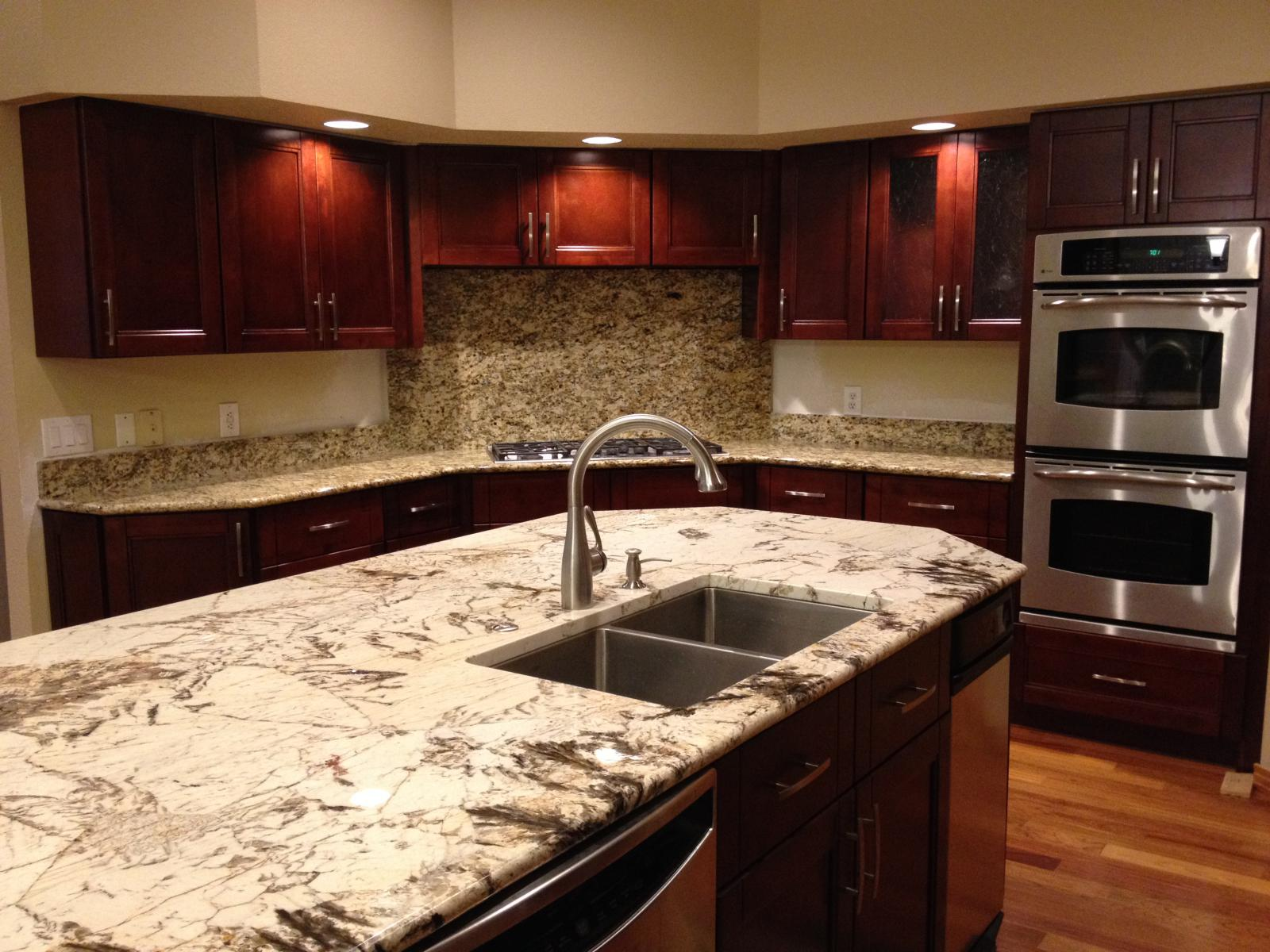 Cherry Double Shaker Cabinet Gallery Custom Cabinets