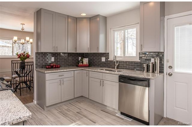 Grey Shaker Cabinet Gallery Custom Kitchen Cabinets Stone Beauteous Shaker Cabinet Kitchen