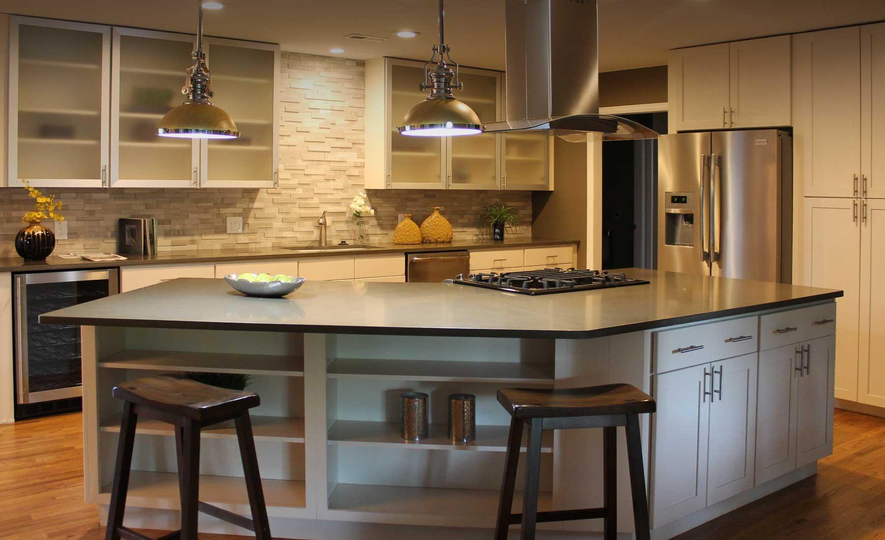 Cream Shaker Kitchen Cream Shaker Kitchen Cabinets Custom Cabinetry In Denver Stone