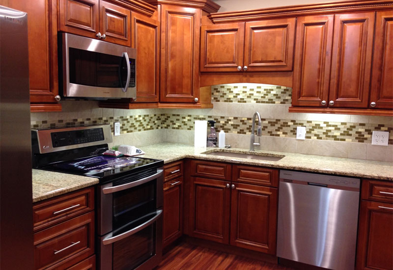 Pictures Of Glazed Kitchen Cabinets