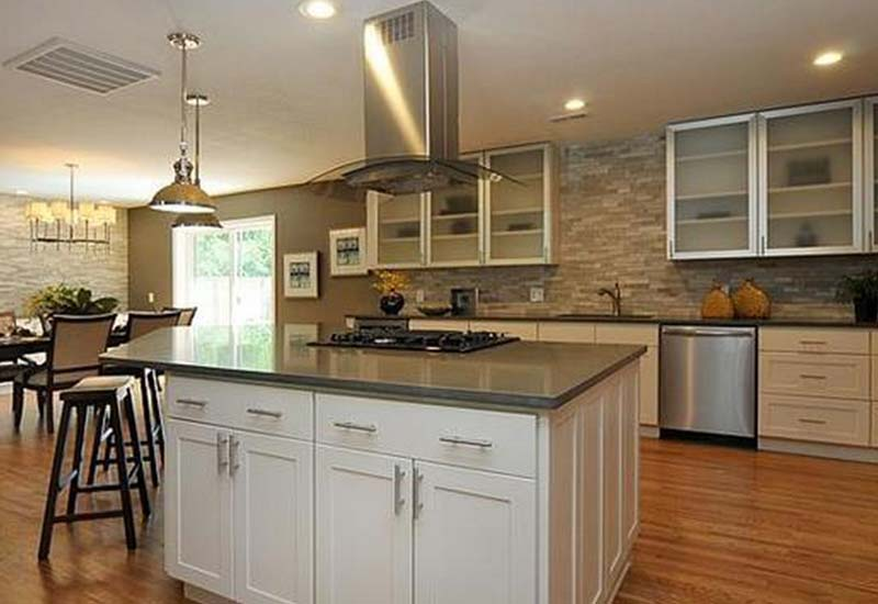 Cream Shaker Kitchen Cabinets Custom Cabinetry In Denver