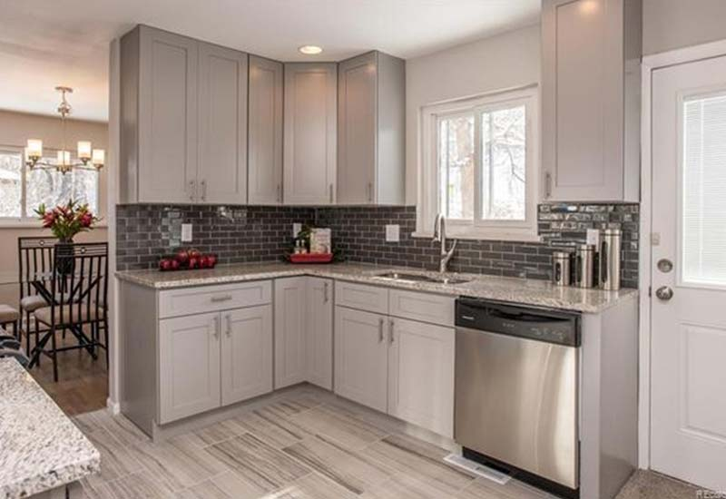 gray shaker kitchen cabinets grey shaker kitchen cabinets custom kitchen cabinets 16032